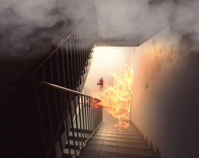 system wentylacji pożarowej