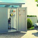 garaż ogrodowy
