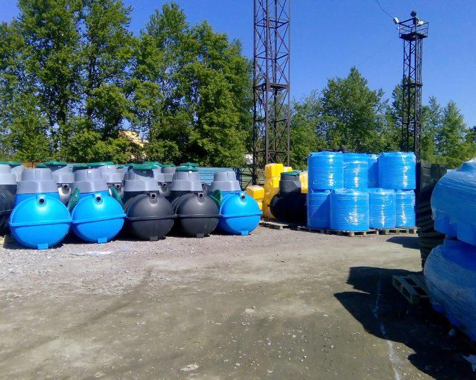 zbiorniki do oczyszczalni